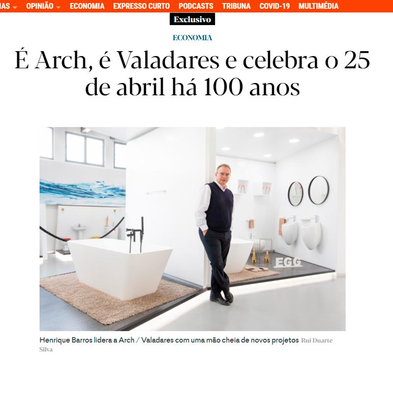 Centenário Valadares | Expresso