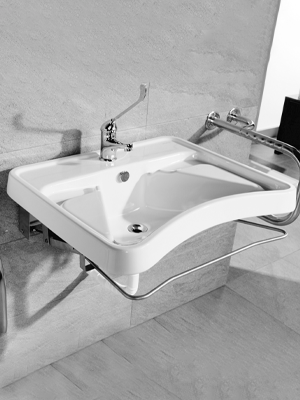 Washbasins Conditioned Mobility